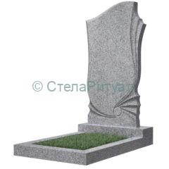 Фигурные памятники, светло-серые, Импорт